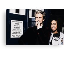 12 and Bill Canvas Print