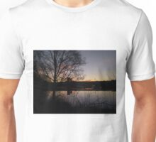 Sunrise At Domnarvet Bridge Unisex T-Shirt