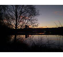 Sunrise At Domnarvet Bridge Photographic Print