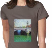 O'Connell Bridge - Dublin Womens Fitted T-Shirt