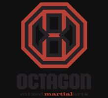 Octagon MMA Original Logo Kids Tee
