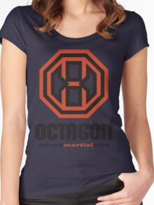 Octagon MMA Original Logo Women's Fitted Scoop T-Shirt