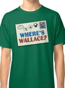 Where's Wallace? (The Wire) Classic T-Shirt