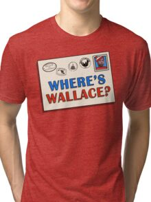 Where's Wallace? (The Wire) Tri-blend T-Shirt
