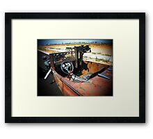 "Rat Rod Roadster "" Unexpected Surprise "" Framed Print"