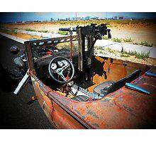 "Rat Rod Roadster "" Unexpected Surprise "" Photographic Print"