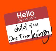 Hello, my name is... Kids Tee