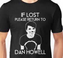 If Lost Please Return To Dan Howell Shirt Unisex T-Shirt