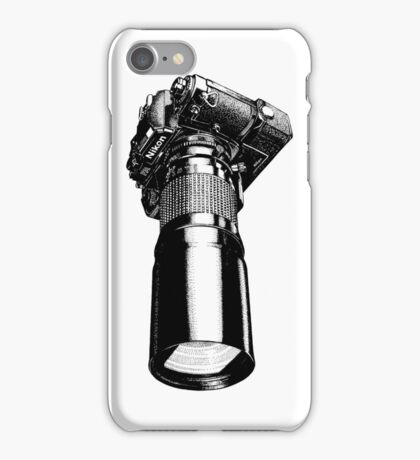 Nikon FA, vintage iPhone Case/Skin