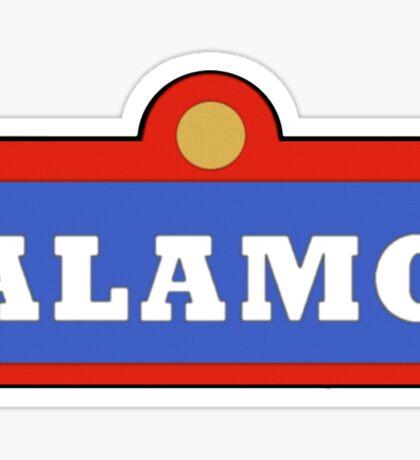 Alamo King of the Hill Sticker
