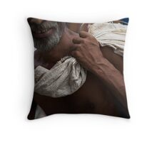 the arm Throw Pillow