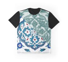 Turkish Tile Graphic T-Shirt