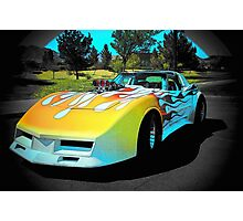 1,000 Horse Power Corvette Rocket... Photographic Print