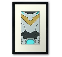 Paladin Armour - YELLOW Framed Print