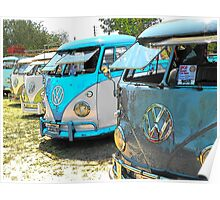 Surfs up and the VW-Bus Poster