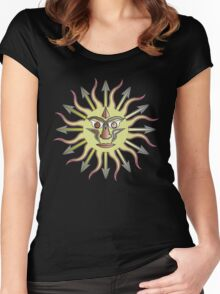 ANGRY SUN 2 Women's Fitted Scoop T-Shirt