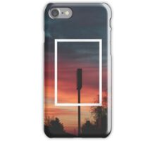The 1975 Sunset Rectangle iPhone Case/Skin