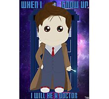 When I grow up, I will be a Doctor Photographic Print