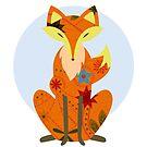 Retro fox by Marishkayu