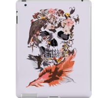 Birds, butterfly and Sugar Skull iPad Case/Skin
