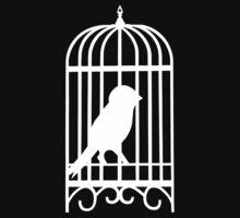 white bird One Piece - Short Sleeve