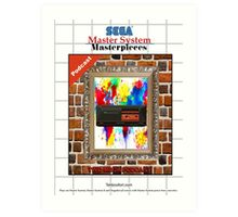Master System Masterpieces podcast Art Print