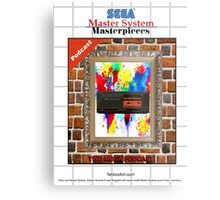 Master System Masterpieces podcast Metal Print