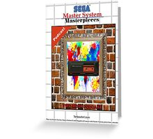 Master System Masterpieces podcast Greeting Card