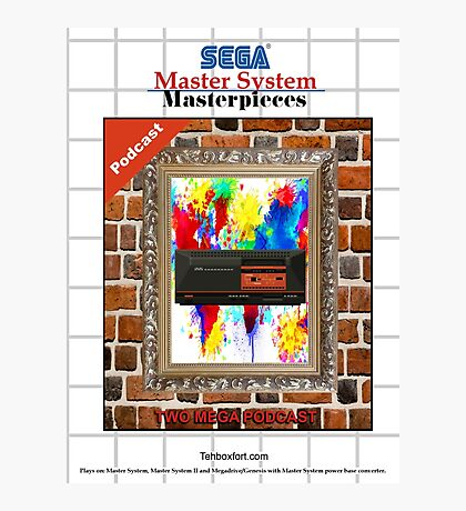 Master System Masterpieces podcast Photographic Print