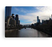 Melbourne River Canvas Print