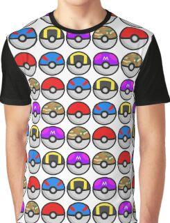 PokéBalls! Graphic T-Shirt