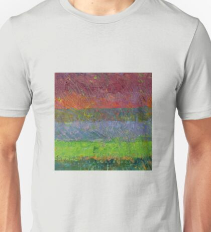 Abstract Landscape Series - Blue Waters Unisex T-Shirt