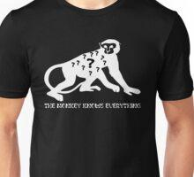 Smart Monkey Funny Meme Unisex T-Shirt