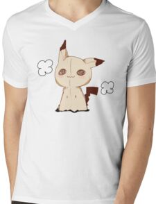 Mimikkyu - Pokemon Sun & Moon Mens V-Neck T-Shirt