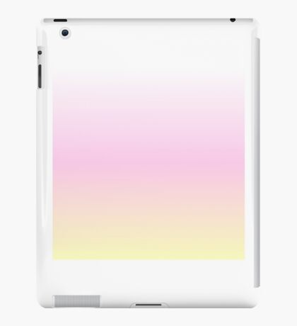 Pink/Yellow Gradient iPad Case/Skin