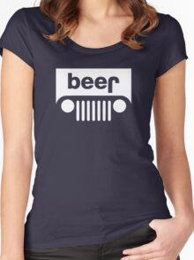 Beer Jeep Women's Fitted Scoop T-Shirt