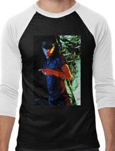 Leather 13 Men's Baseball ¾ T-Shirt