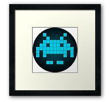 Arcade Blue Framed Print