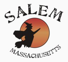 Salem Massachusetts Witch One Piece - Short Sleeve