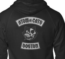Atom Cats  Zipped Hoodie