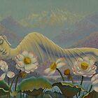 Ehereal Buddha by Yuliya Glavnaya