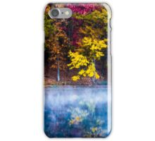 Autumn Reflections on the Lake iPhone Case/Skin