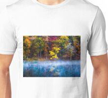 Autumn Reflections on the Lake Unisex T-Shirt
