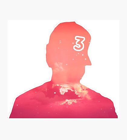 Chance The Rapper Coloring Book Art Photographic Print