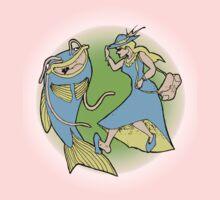 Catfish Dances Kids Tee