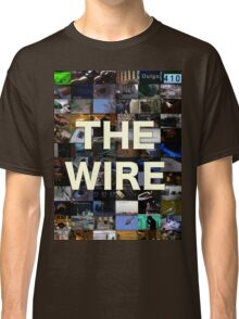 The Wire Television Poster Classic T-Shirt