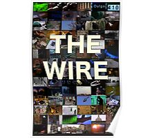 The Wire Television Poster Poster