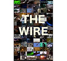 The Wire Television Poster Photographic Print