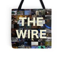The Wire Television Poster Tote Bag