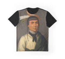 No-Tin (Wind), Chippewa Chief Graphic T-Shirt